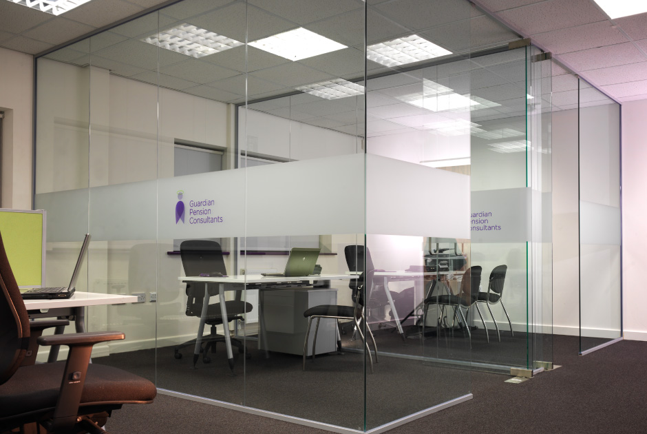Guardian Pensions Altitude Glass Past Work Project