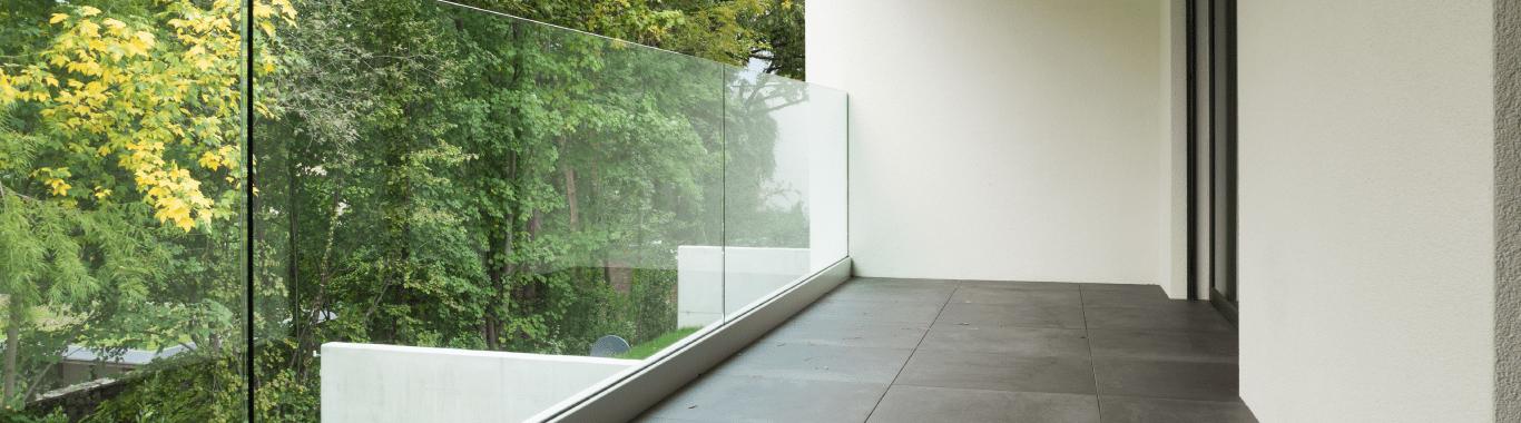 Glass Balustrades for Verandas
