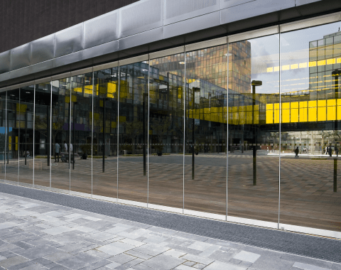 Retail Glass Partitions