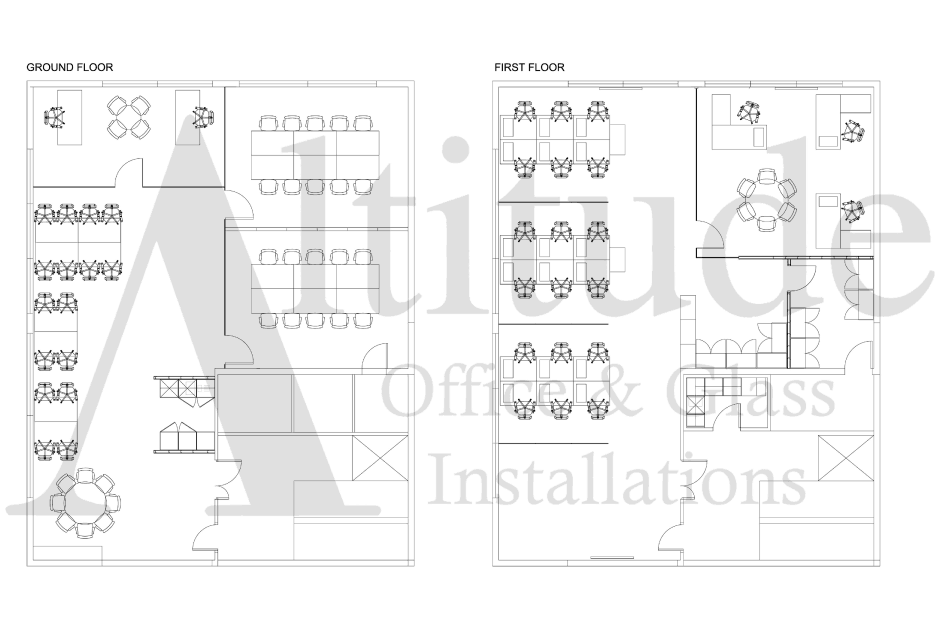 Technical Drawing of School Lettings Solutions