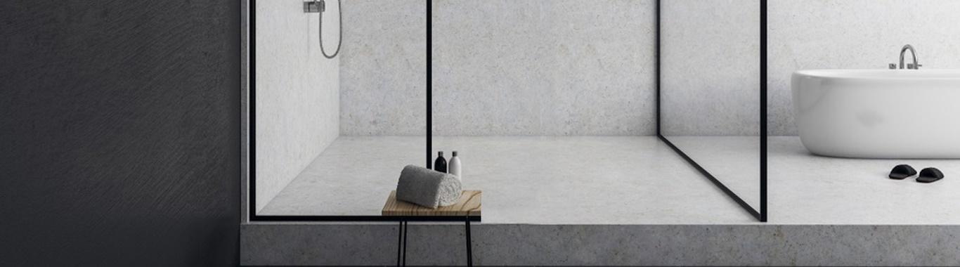 Bespoke shower screen available for bulk supply