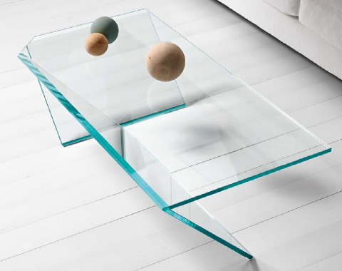 Tonelli Glass Coffee Table