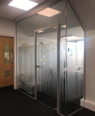 Acoustic Glass Office
