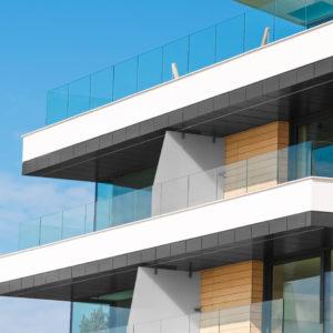 Toughened Laminated Glass Panels