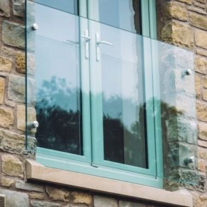 Juliet Balcony Glass Panels