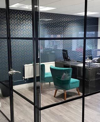 Crittall-style Glass Partitions