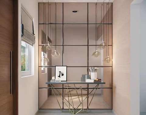 Great Reasons Why Mirrored Walls Are A, Glass Mirror Wall Tiles